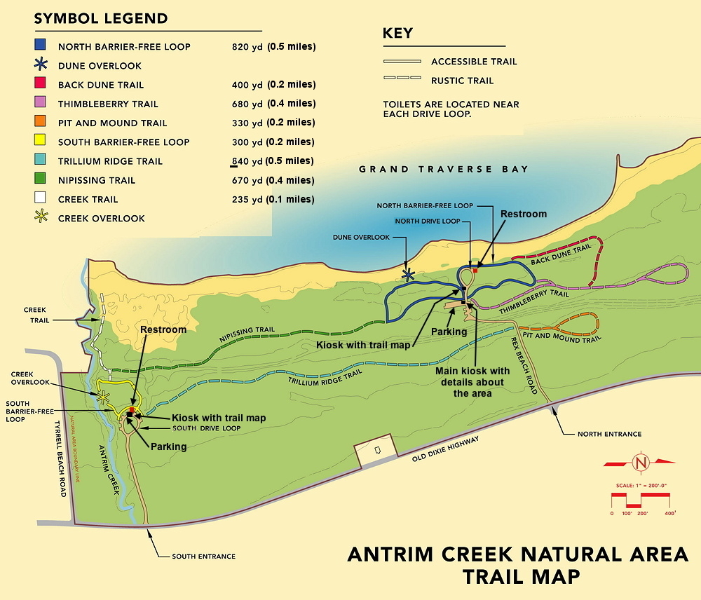 ATI Consulting - Northwestern Lower Michigan Trail Guide for hiking ...