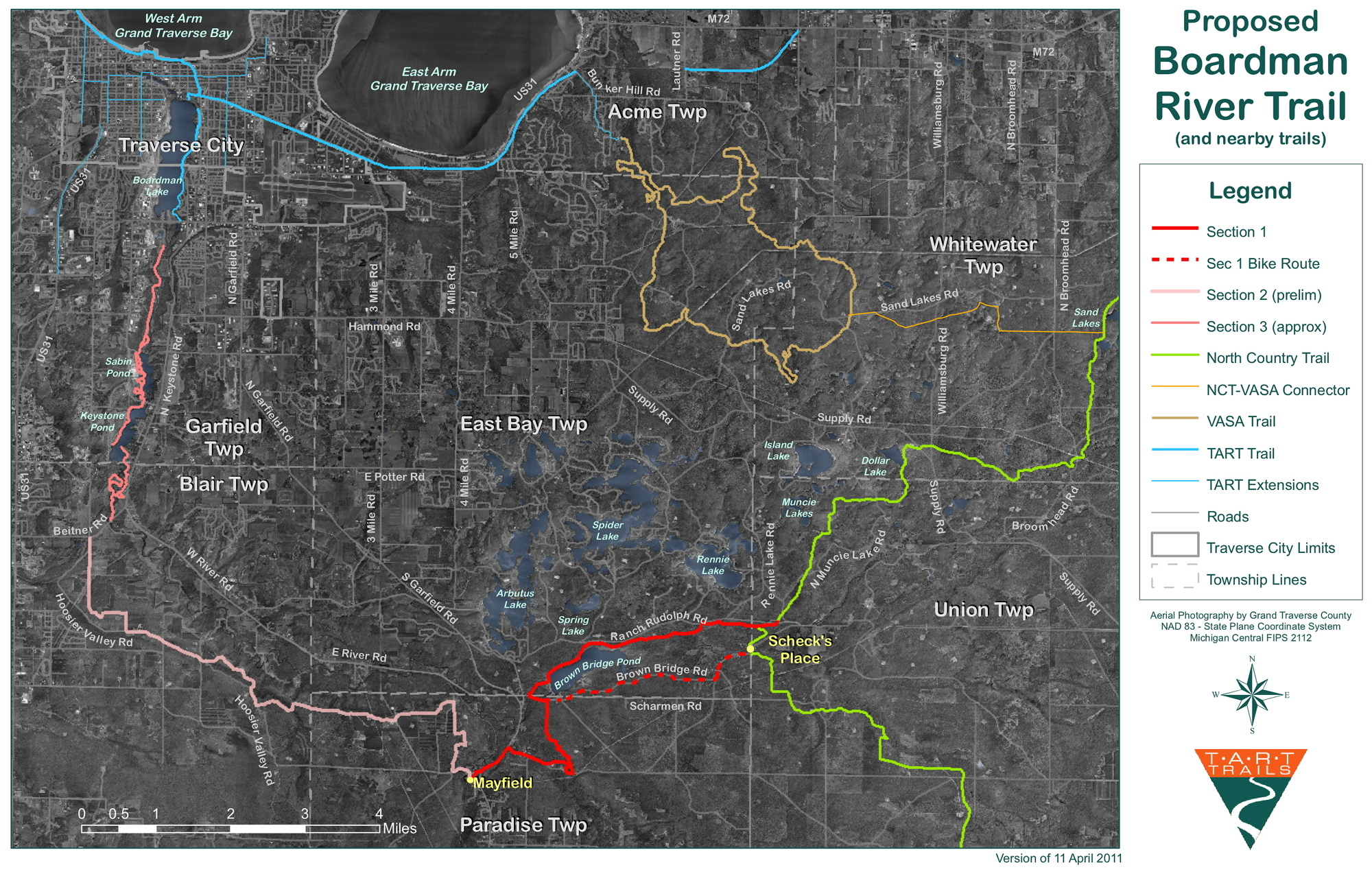ATI Consulting - Northwestern Lower Michigan Trail Guide for ... on